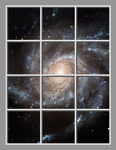 Ceiling Mural hubble01_6x8cr by Hubble Telescope